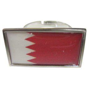 Bahrain Flag Fashion Ring